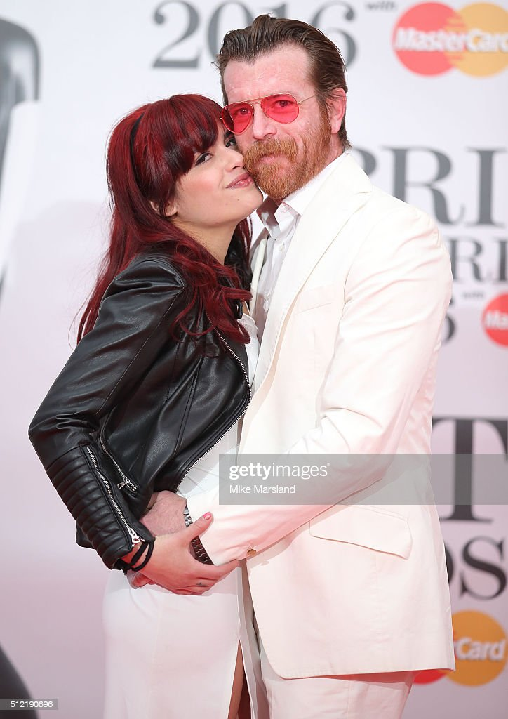 Jesse Hughes attends the BRIT Awards 2016 at The O2 Arena on February 24, 2016 in London, England.