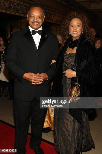 Jesse Jackson and Jacqueline Lavinia Brown attend ALVIN AILEY Opening Night Gala Benefit at New York City Center / Hilton on December 2 2009 in New...