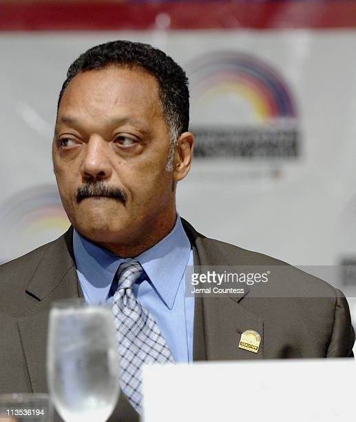Jesse Jackson during Jesse Jackson's Ninth Annual Wall Street Project Economic Summit Awards Luncheon at Sheraton New York Hotel Towers in New York...