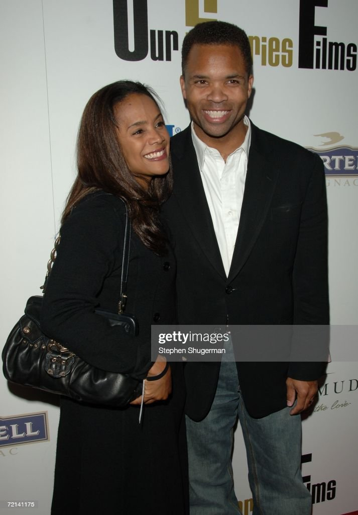 Jesse Jackson Jr. (R) and wife Sandi attend the launch party for Our Stories Films at Social on October 10, 2006 in Hollywood, California.