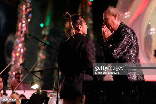Jesse Jo Stark and Eduardo Marturet perform onstage during Chrome Hearts & Baccarat celebrate The Miami Design District with Jesse Jo Stark, Mary...