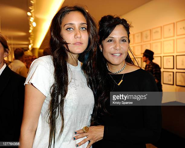 Jesse Jo Stark and Laurie Lynn Stark attend the Chrome Hearts and Colette celebration of their Pete Punk collection launch at the Colette store on...