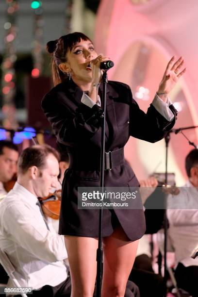 Jesse Jo Stark performs onstage during Chrome Hearts & Baccarat celebrate The Miami Design District with Jesse Jo Stark, Mary Anne Huntsman & The...