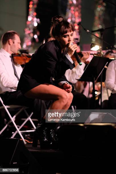 Jesse Jo Stark performs onstage during Chrome Hearts Baccarat celebrate The Miami Design District with Jesse Jo Stark Mary Anne Huntsman The Miami...