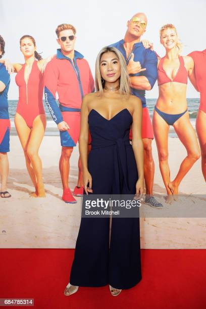 Jesse Khoo attends the Australian premiere of 'Baywatch' at Hoyts EQ on May 18 2017 in Sydney Australia
