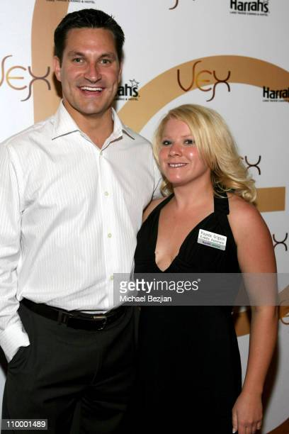 Jesse Kiaviny and Kaycea Grignon during American Century Golf Championship Party at Harrah's Casino and Vex Night Club July 16 2006 at Harrah's...