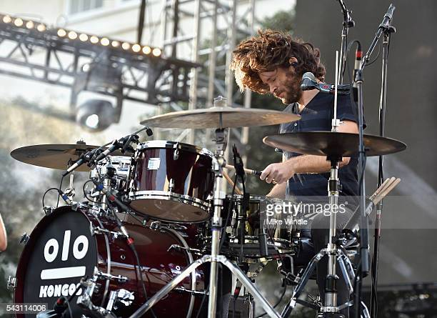 Jesse Kongos of KONGOS performs onstage at EpicFest 2016 hosted by LA Reid and Epic Records at Sony Studios on June 25 2016 in Los Angeles California