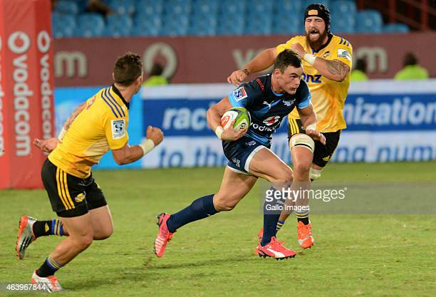Jesse Kriel of the Bulls during the Super Rugby match between Vodacom Bulls and Hurricanes at Loftus Versfeld on February 20 2015 in Pretoria South...