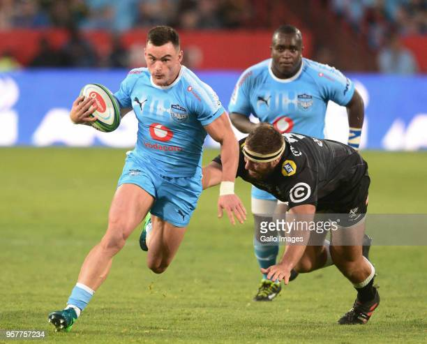Jesse Kriel of the Bulls during the Super Rugby match between Vodacom Bulls and Cell C Sharks at Loftus Versfeld on May 12 2018 in Pretoria South...