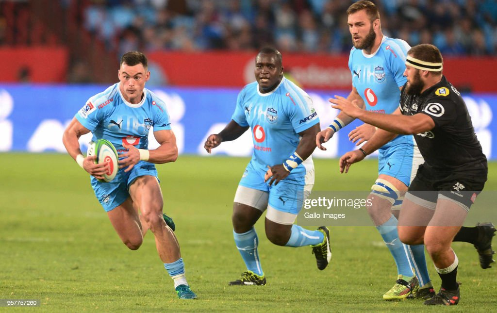 Jesse Kriel of the Bulls during the Super Rugby match between Vodacom Bulls and Cell C Sharks at Loftus Versfeld on May 12, 2018 in Pretoria, South Africa.