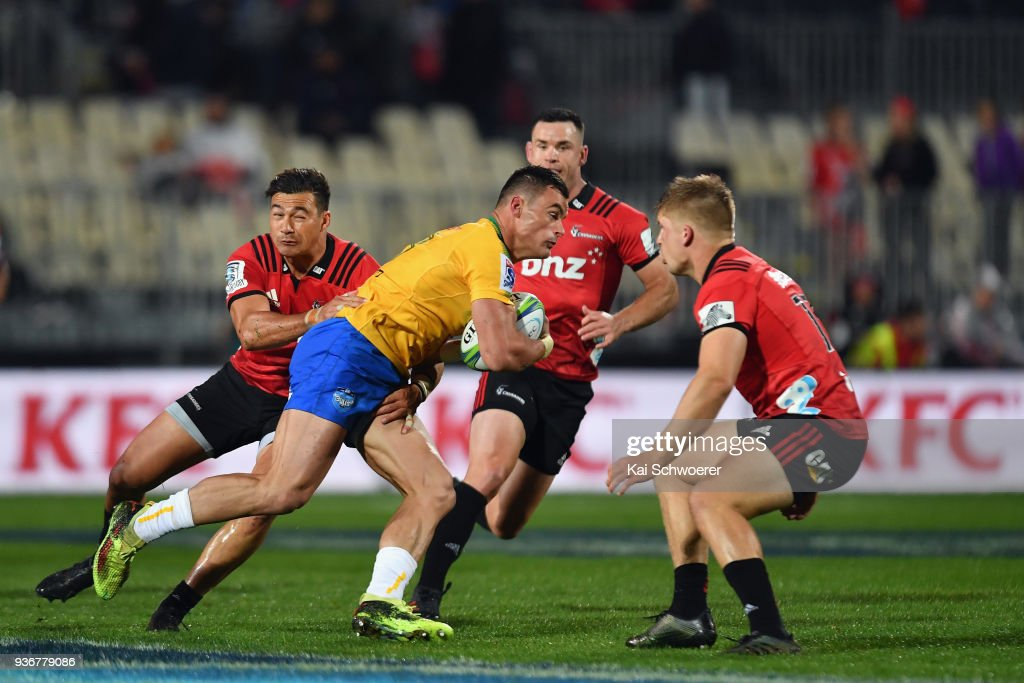 Super Rugby Rd 6 - Crusaders v Bulls