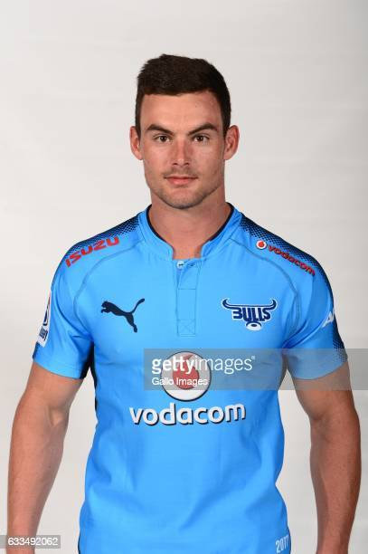 Jesse Kriel of the Bulls poses during the Bulls Super Rugby headshots session on February 01 2017 in Pretoria South Africa