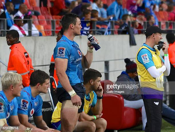 Jesse Kriel of Vodacom Blue Bulls during the 2016 Super Rugby match between Southern Kings and Vodacom Bulls at Nelson Mandela Bay Stadium on April...