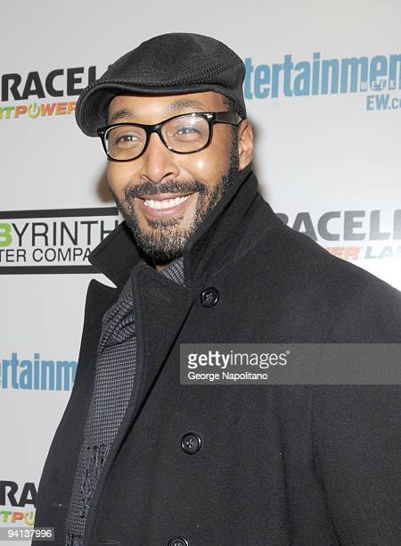 Jesse L Martin attends LAByrinth Theater Company's 6th Annual Gala Benefit at St Paul The Apostle Church on December 7 2009 in New York City