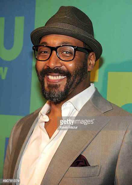 Jesse L Martin attends The CW Network's 2014 Upfront at The London Hotel on May 15 2014 in New York City