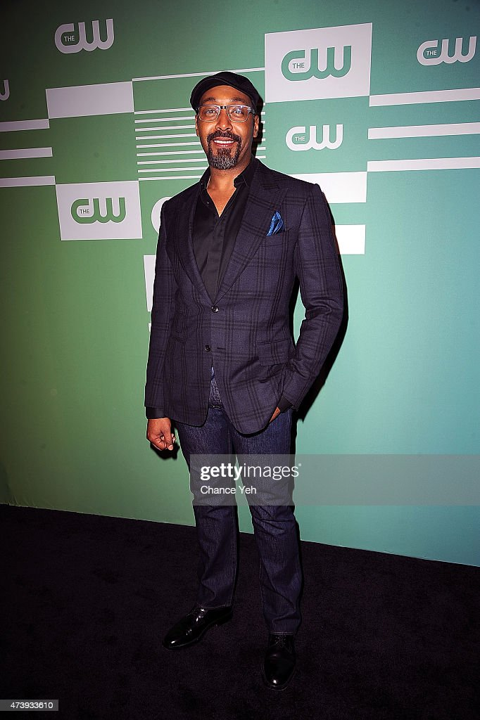 Jesse L. Martin attends The CW Network's New York 2015 Upfront Presentation at The London Hotel on May 14, 2015 in New York City.