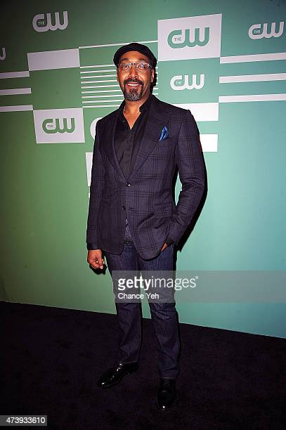 Jesse L Martin attends The CW Network's New York 2015 Upfront Presentation at The London Hotel on May 14 2015 in New York City