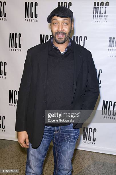 Jesse L Martin attends the MCC Theater presentation of 'Miscast 2008' on March 10 2008 in New York City