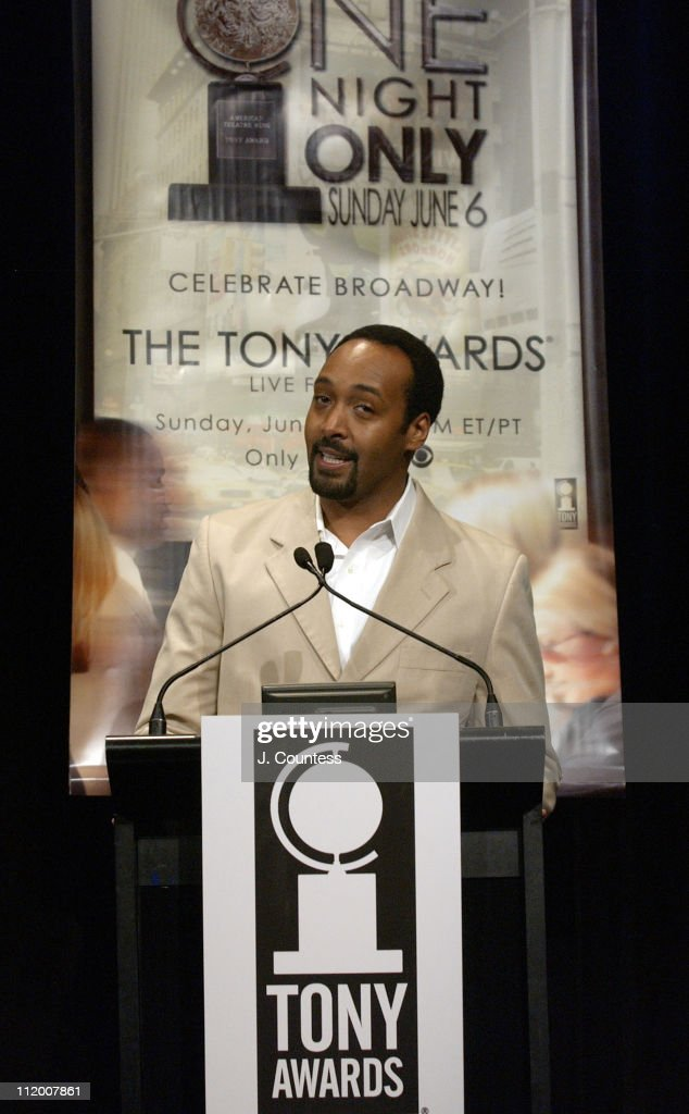 Jesse L. Martin during 58th Annual Tony Awards Nominee Announcements at Hudson Theater in New York City, New York, United States.