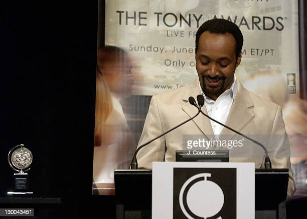 Jesse L Martin during 58th Annual Tony Awards Nominee Announcements at Hudson Theater in New York City New York United States
