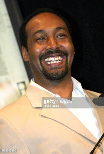 Jesse L Martin during 58th Annual Tony Awards Nominee Announcements at The Hudson Theater in New York City New York United States
