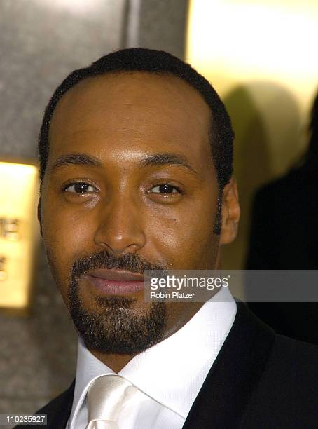 Jesse L Martin during 59th Annual Tony Awards Outside Arrivals at Radio City Music Hall in New York City New York United States