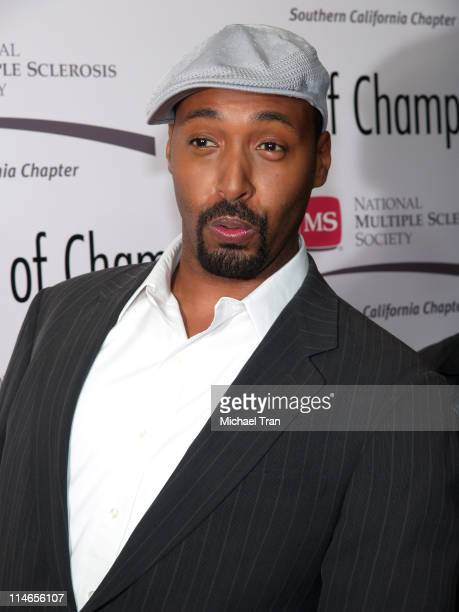 Jesse L Martin during Dinner of Champions to Honor Tom Sherak September 16 2005 at Kodak Theater in Hollywood California United States