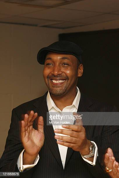 Jesse L Martin during Fifth Annual Our Time Benefit Gala CoHosted by 'Law Orders' Mariska Hargitay and Jesse L Martin Backstage and Performance at...