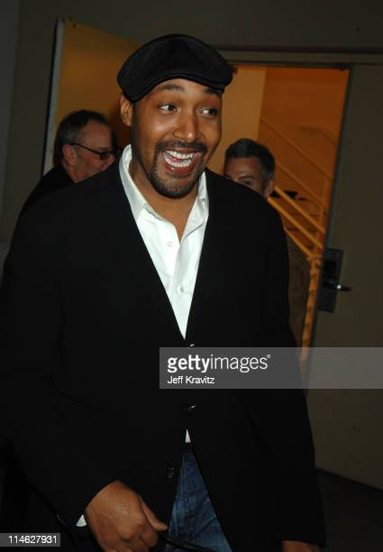Jesse L Martin during HBO AEG Live's 'The Comedy Festival' Comic Relief 2006 Backstage at Caesars Palace in Las Vegas Nevada United States