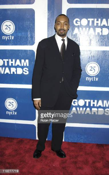 Jesse L Martin during IFP's 15th Annual Gotham Awards at Pier Sixty at Chelsea Piers in New York City New York United States