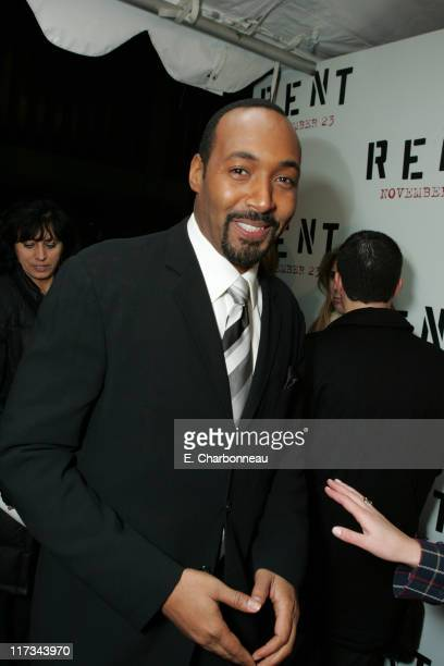 Jesse L Martin during Revolution Studios' and Columbia Pictures' World Premiere of 'Rent' at Ziegfeld Theatre/Roseland in New York City New York...