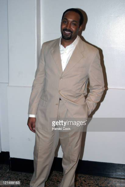Jesse L Martin during 'Women in Transition The Art of Change' at The Public Theater in New York New York United States