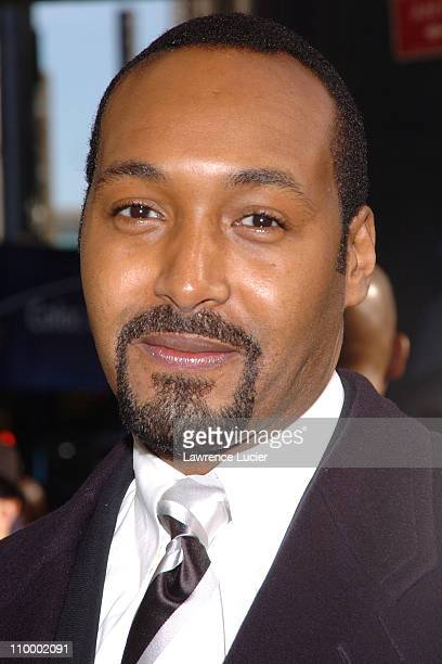 Jesse L Martin during Woodie King Jr's New Federal Theater 35th Anniversary Gala Benefit at Town Hall in New York City New York United States