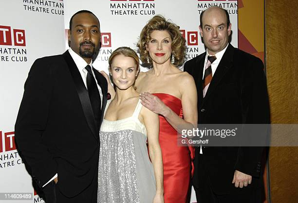 Jesse L Martin Kate Reinders Christine Baranski and Christopher Ashley director