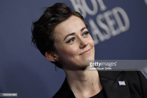 Jesse LaTourette attends the premiere of Focus Features' 'Boy Erased' at Directors Guild of America on October 29, 2018 in Los Angeles, California.
