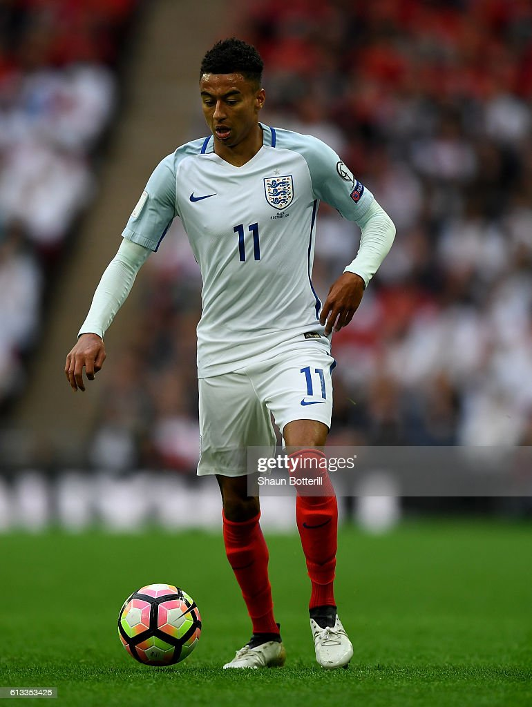 Jesse Lingard of England in action during the FIFA 2018 World Cup ... 54fdb0f0f