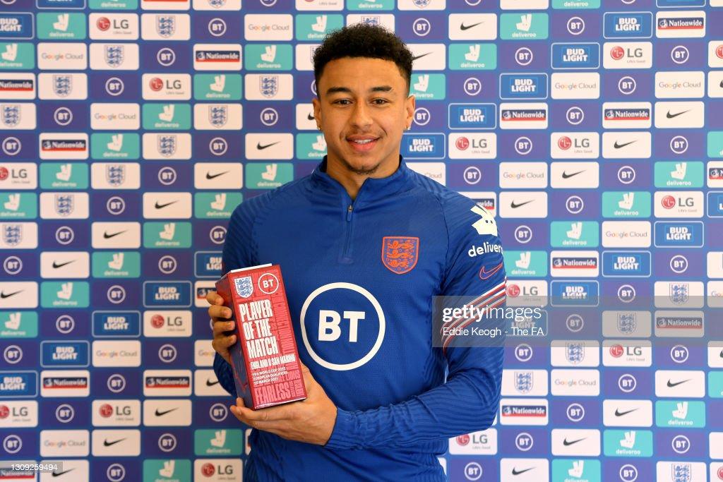 BT Player of the Match Award for England v San Marino : ニュース写真
