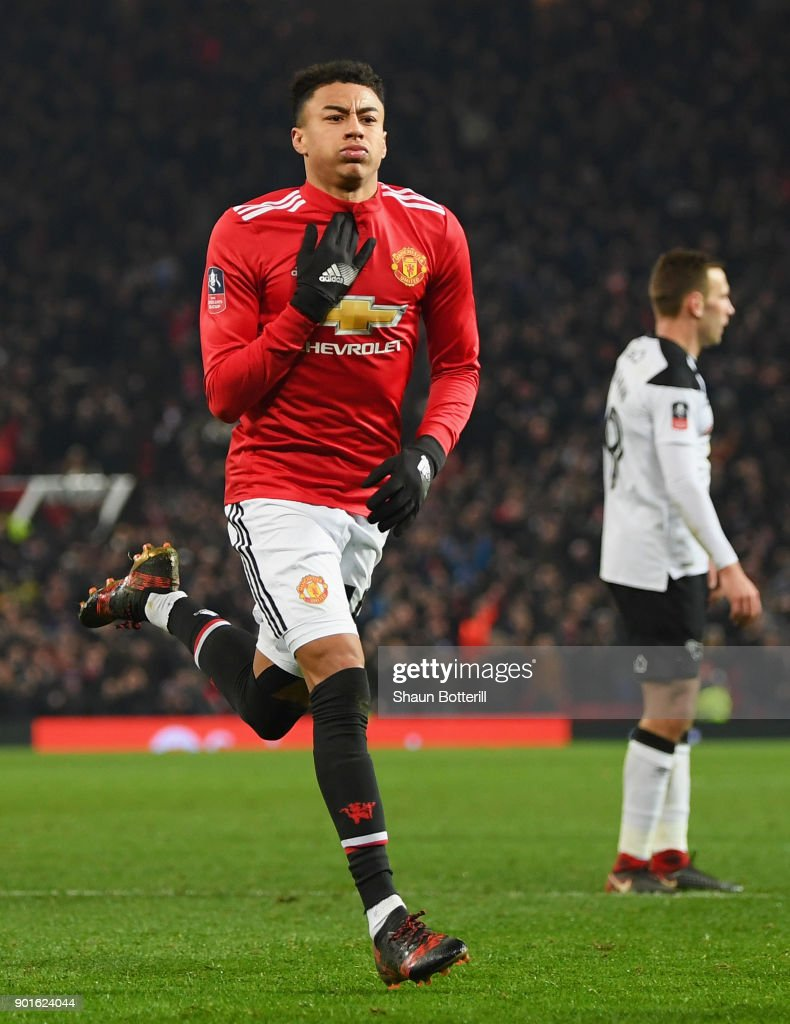Manchester United v Derby County - The Emirates FA Cup Third Round