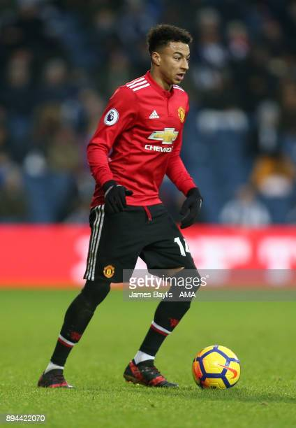 Jesse Lingard of Manchester United during the Premier League match between West Bromwich Albion and Manchester United at The Hawthorns on December 17...