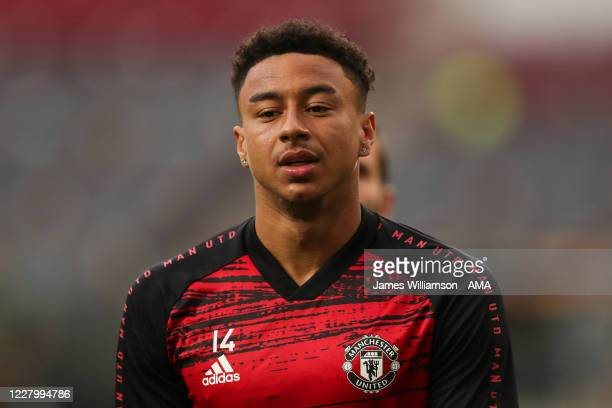 Jesse Lingard of Manchester United during the UEFA Europa League Quarter Final between Manchester United and FC Kobenhavn at RheinEnergieStadion on...