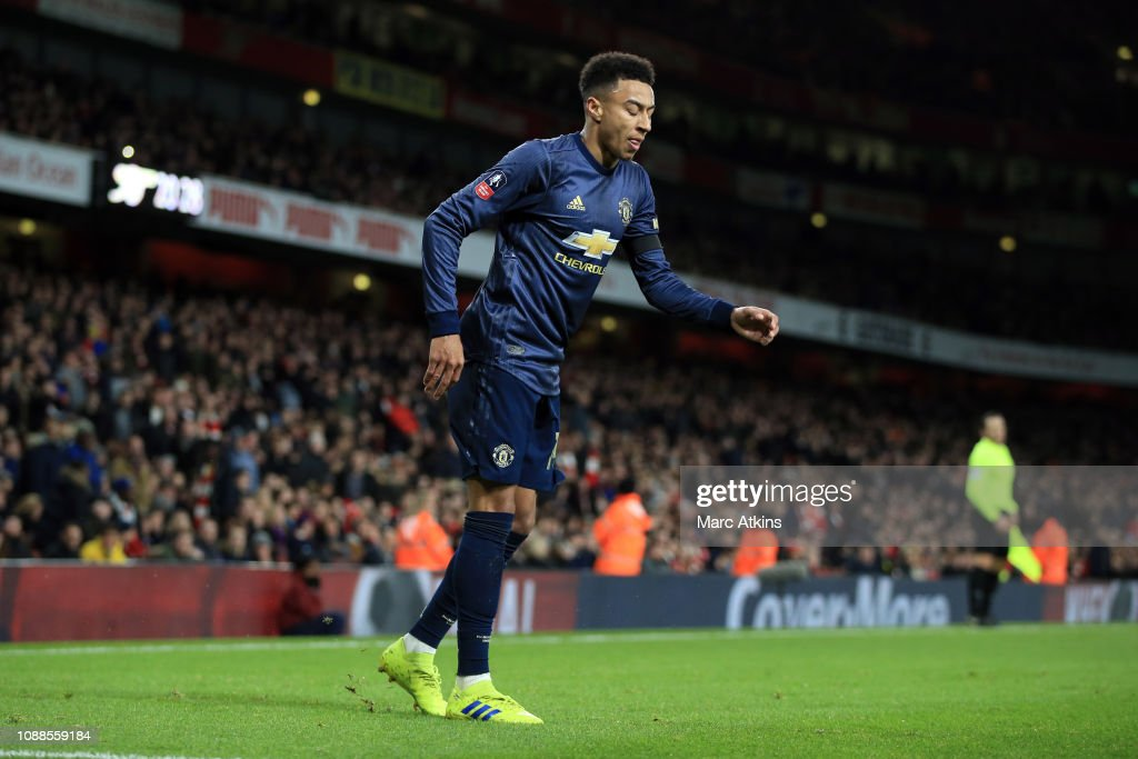 Arsenal v Manchester United - FA Cup Fourth Round : Nyhetsfoto