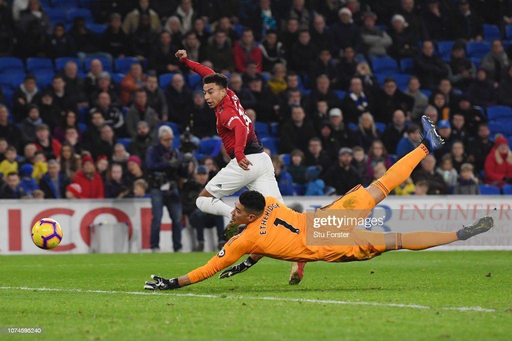 Cardiff City v Manchester United - Premier League : News Photo