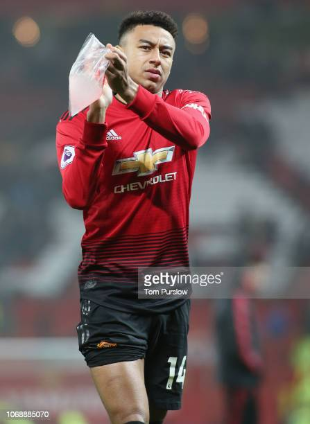 Jesse Lingard of Manchester United walks off after the Premier League match between Manchester United and Arsenal FC at Old Trafford on December 4...