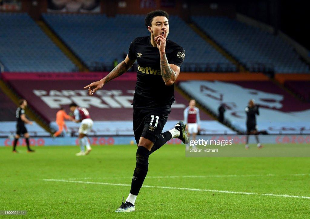 Aston Villa v West Ham United - Premier League : ニュース写真