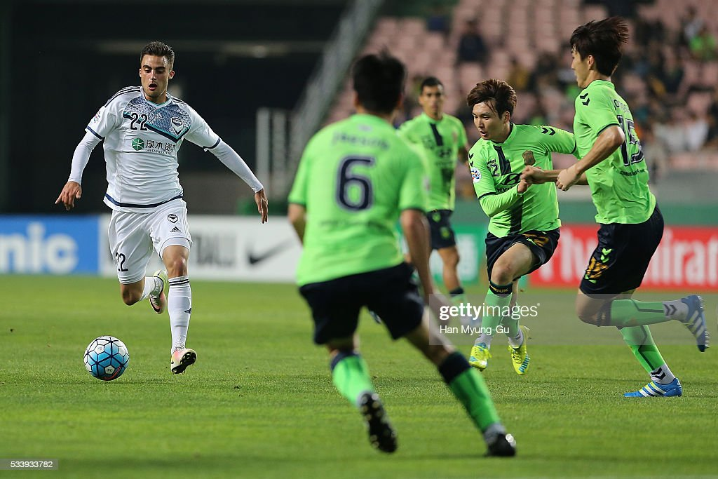 Jeonbuk Hyundai Motors v Melbourne Victory - AFC Champions League Round Of 16 : News Photo