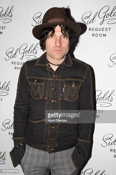 Jesse Malin attends the Sid Gold's Request Room opening on May 2 2015 in New York City