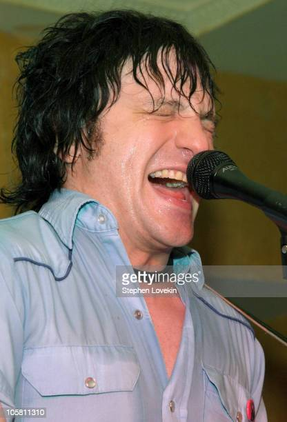 Jesse Malin during Jesse Malin Performs at Eugene July 2 2004 at Eugene in New York City New York United States