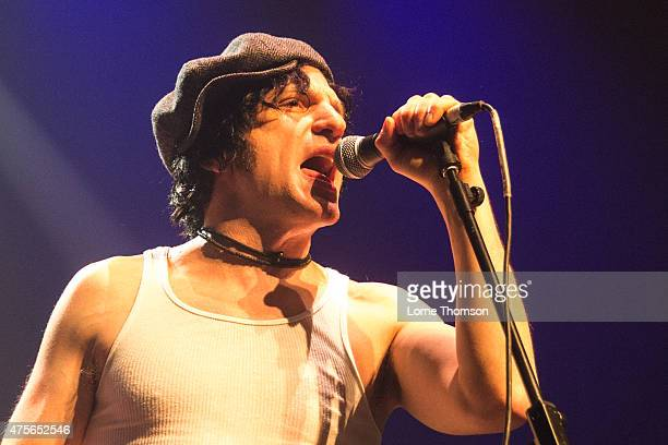 Jesse Malin performs at The Roundhouse on June 2 2015 in London United Kingdom