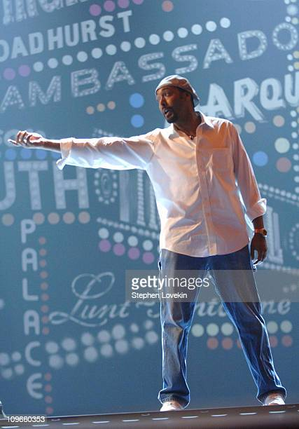 Jesse Martin during 59th Annual Tony Awards Rehearsals Day 2 at Radio City Music Hall in New York City New York United States