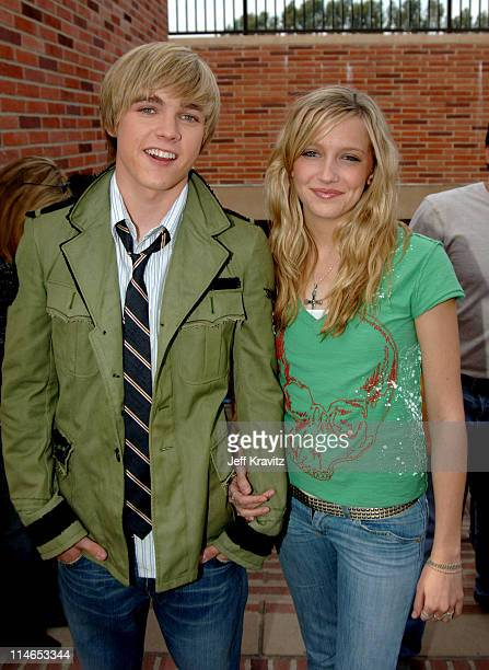 Jesse McCartney and Date during Nickelodeon's 18th Annual Kids Choice Awards - Orange Carpet at Pauley Pavilion in Los Angeles, California, United...